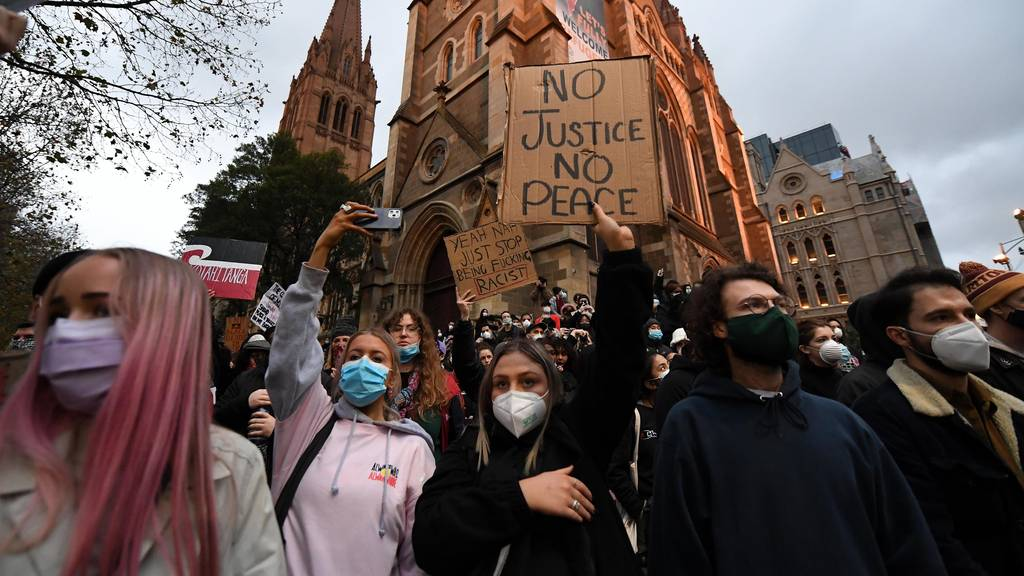 Second Black Lives Matter protester tests positive to coronavirus in Melbourne