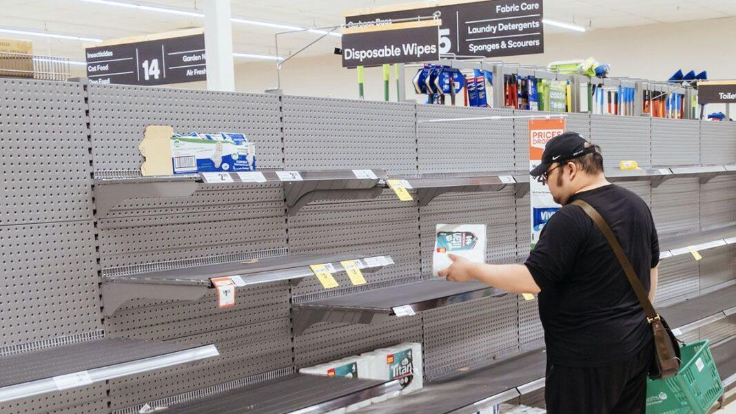 Toilet paper limits are back at Coles and Woolworths after another panic-buying frenzy