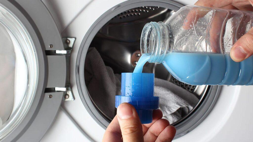 Wash clothes with chemical disinfectants