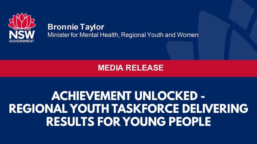 Achievement unlocked - Regional youth taskforce delivering results for young people