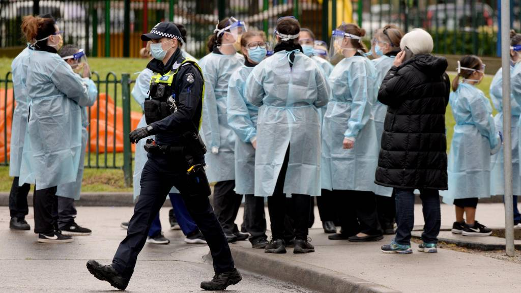 Melbourne ordered back into lockdown amid record spike in COVID cases