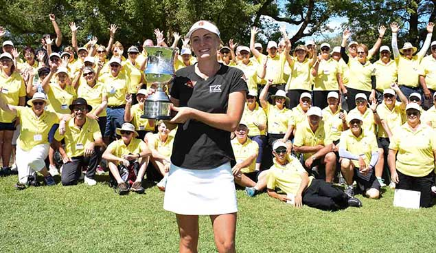 Dubbo proved itself capable of holding major golf tournaments in March when Julia Engstrom lifted the women's NSW Open Crown