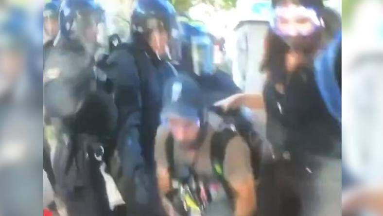 George Floyd killing: Australian news crew bashed by US police outside White House
