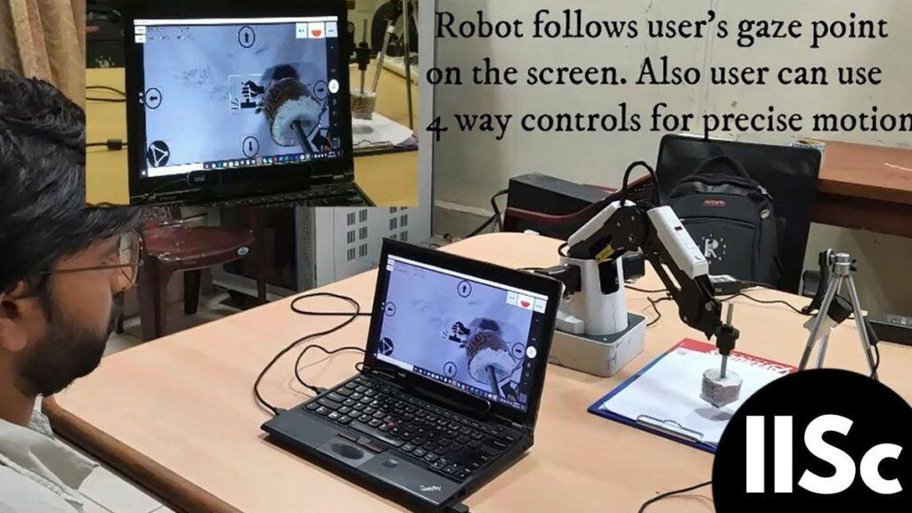 Indian Institute of Science (IISc) in this tech city has designed a robotic arm (robo)