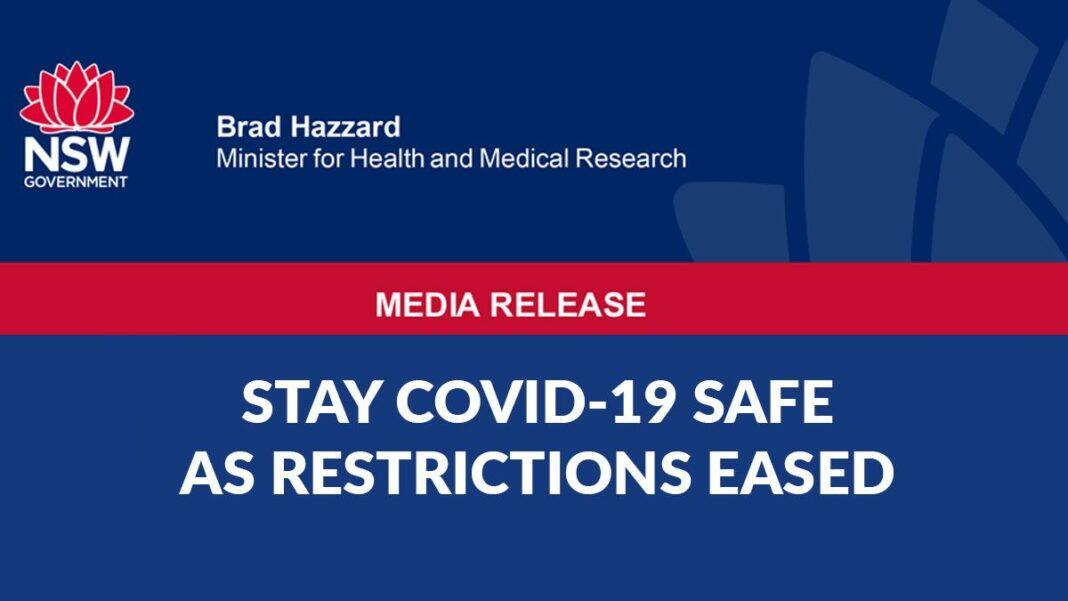 Stay COVID19 Safe as Restrictions Eased