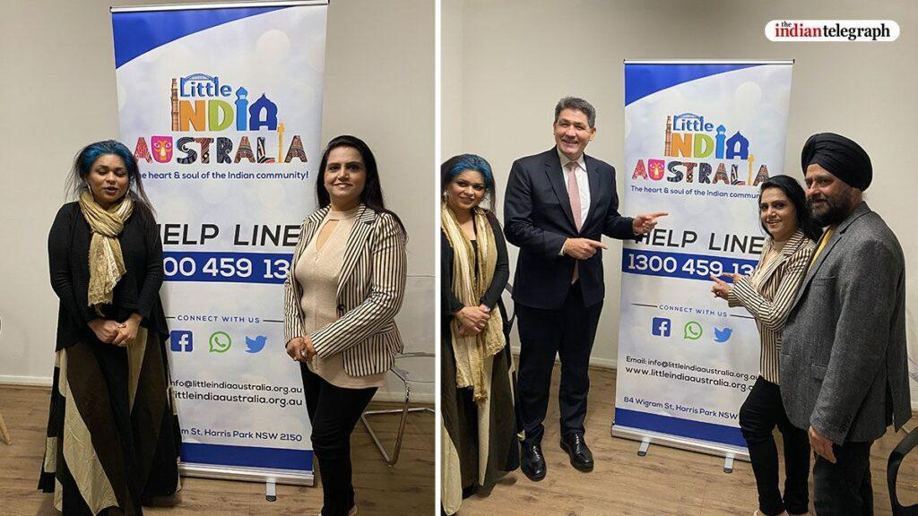 The Little India Helpline was formally launched by Dr. Geoff Lee MP, Minister for Skills and Higher education, NSW Government on Wednesday 1 July in Harris Park.