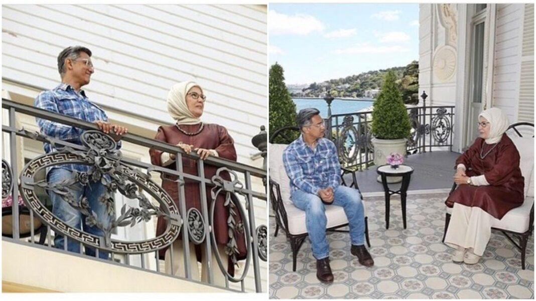 Aamir Khan meets First Lady of Turkey, Emine Erdogan as he resumes shooting of 'Laal Singh Chaddha' there