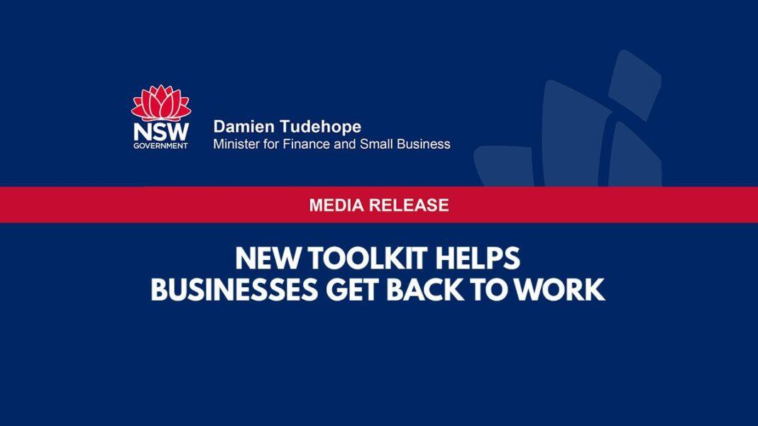 New Toolkit Helps Businesses Get Back To Work