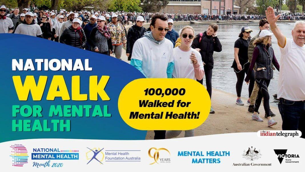 100,000 Walked for Mental Health!