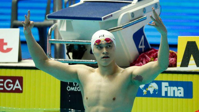 Sun Yang has eight-year doping ban referred back to Court of Arbitration for Sport after appeal