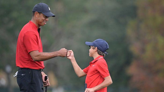 Charlie Woods shows uncanny likeness to his father Tiger Woods, but deserves to grow up unburdened by expectation