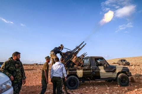 Libya's Eastern Strongman Urges Troops 'Drive Out' Turkish Forces