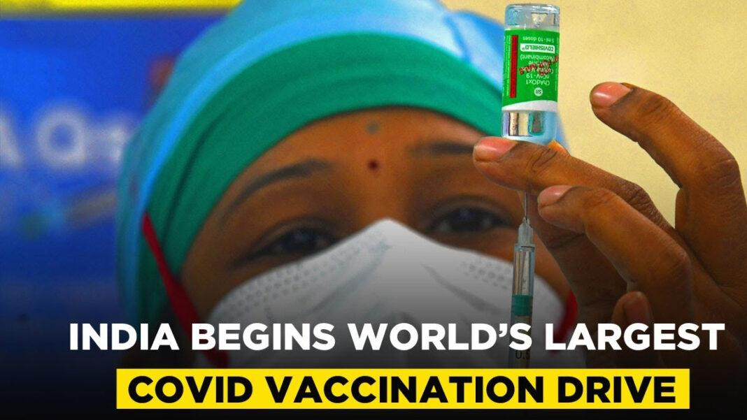 India Begins Largest Covid Vaccination Drive 1.65 Lakh Get Shots On Day 1