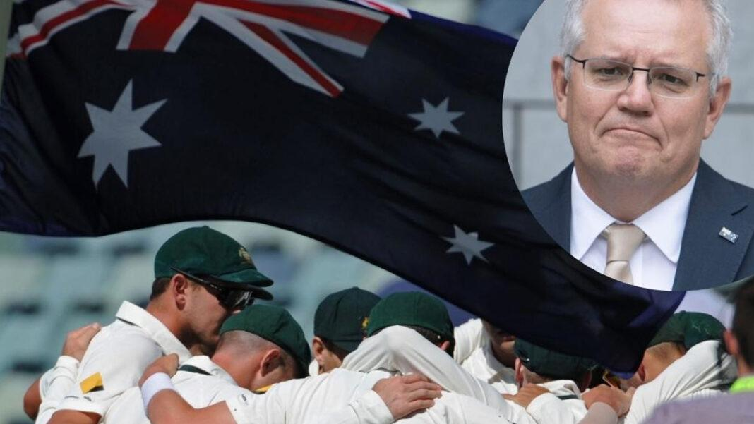 PM hits out at Cricket Australia over national day marketing