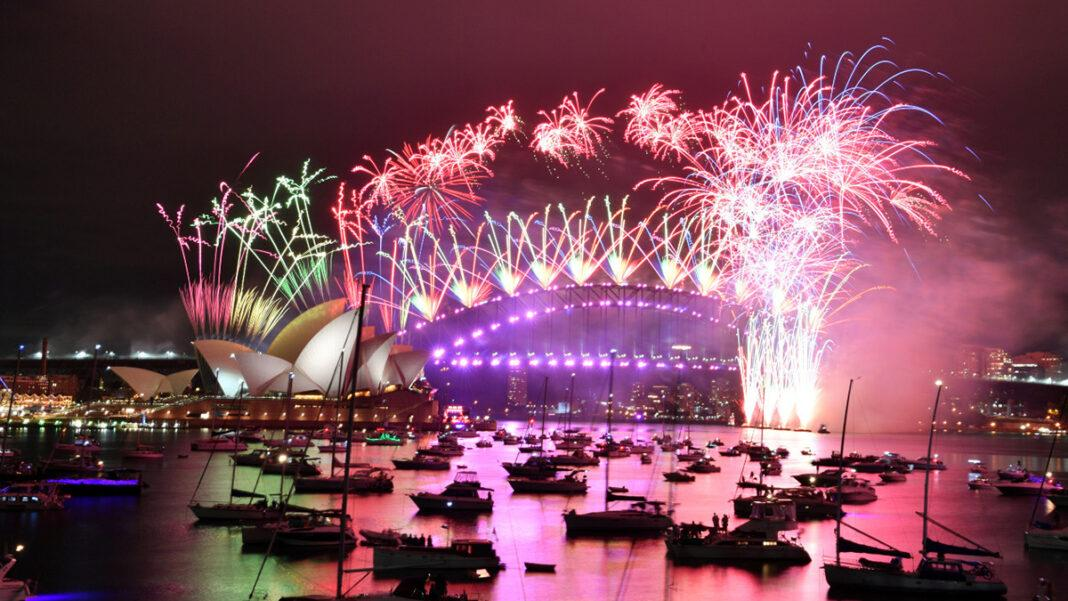 Sydney's New Year's Eve famous fireworks