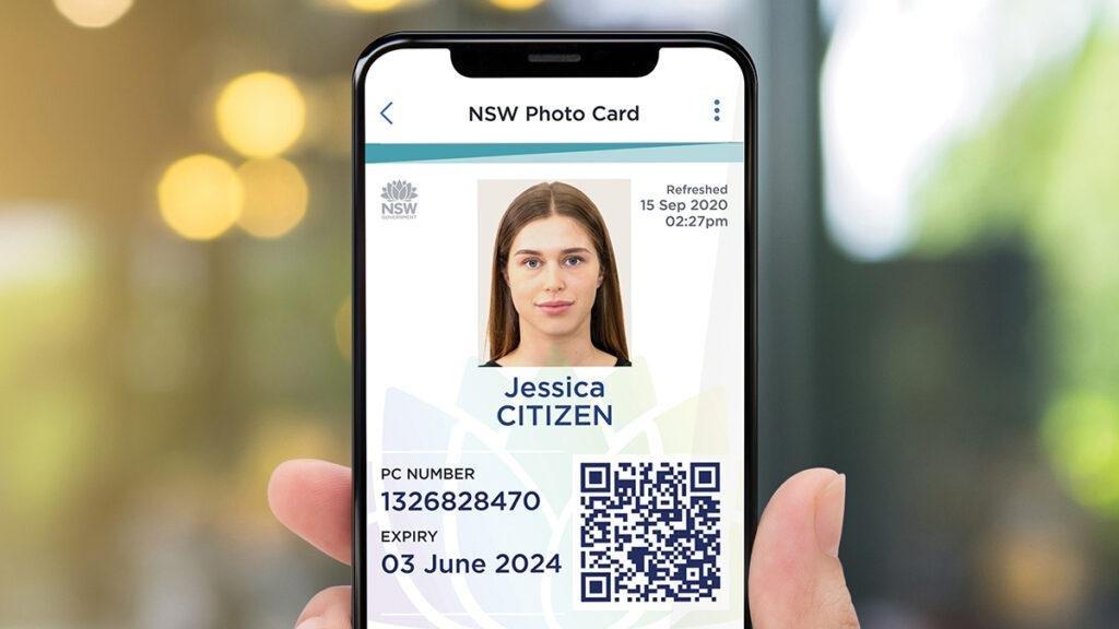 Digital Photo Card App Screen