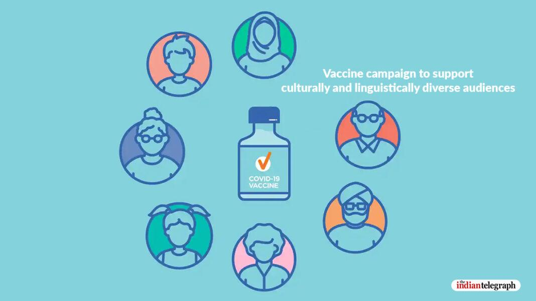Vaccine campaign to support culturally and linguistically diverse audiences